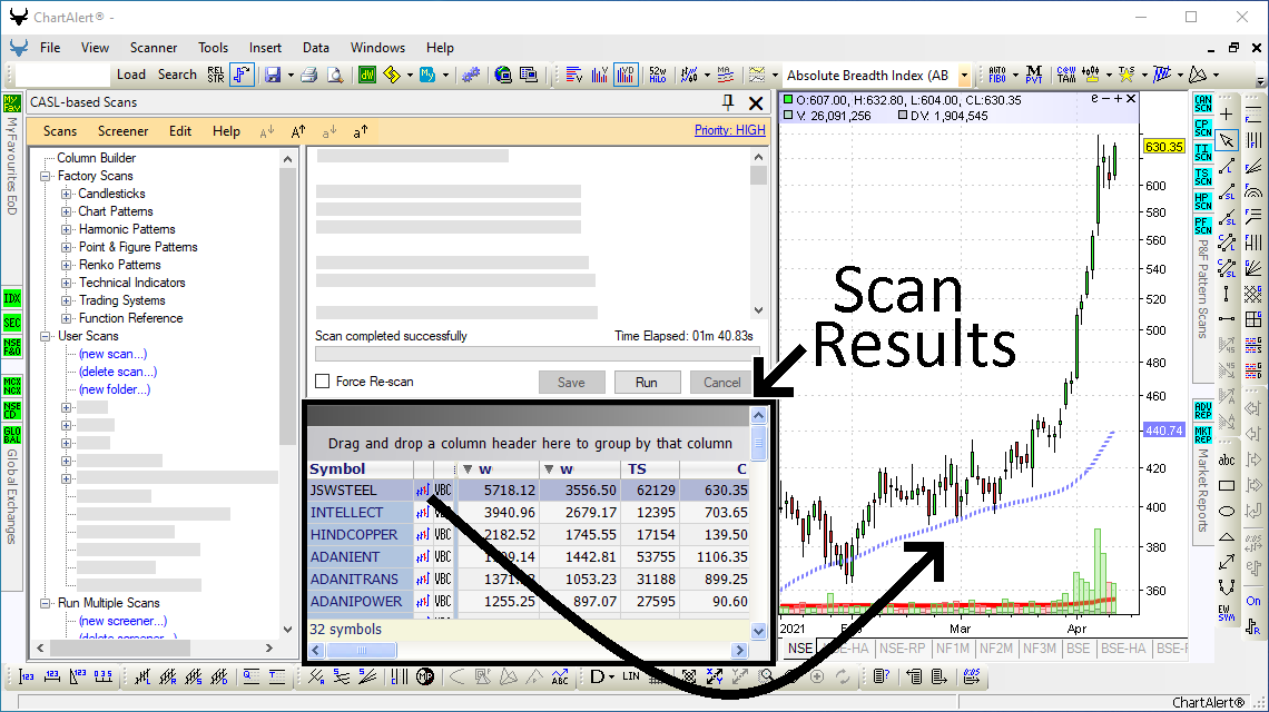 CASL Scan Results Report